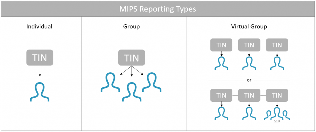 MIPS Reporting Types